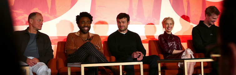 """""""Solo: A Star Wars Story"""" Press Conference"""